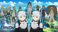 Review Anime: Dungeon ni Deai wo Motomeru no wa Machigatteiru Darou ka