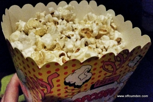 Reel cinema popcorn