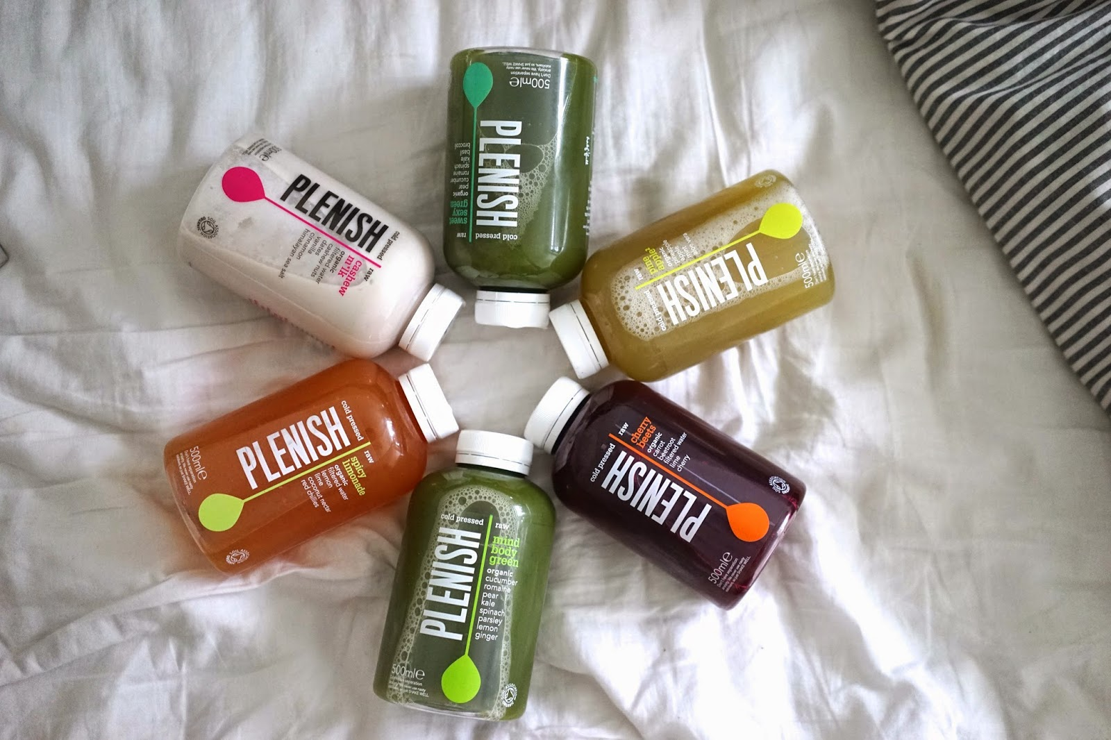 Plenish juices