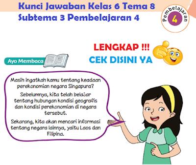 Kunci Jawaban Kelas 6 Tema 8 Subtema 3 Pembelajaran 4 www.simplenews.me