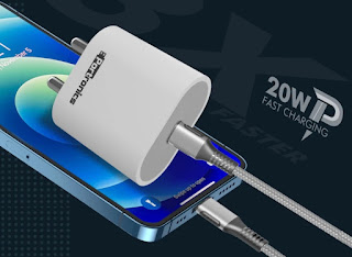 Portronics Adapto 20 fast charger price in India