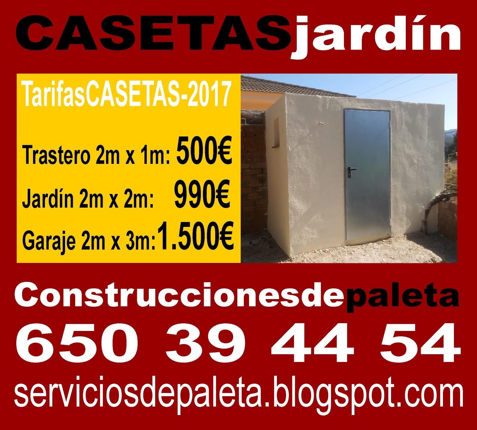 Serviciosdejardineriabasica 500 casetasjard n for Jardineria barata barcelona