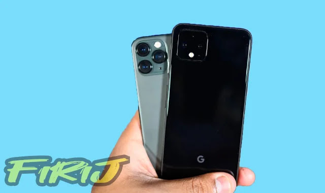 Comparaison entre Pixel 4 et iPhone 11 Pro