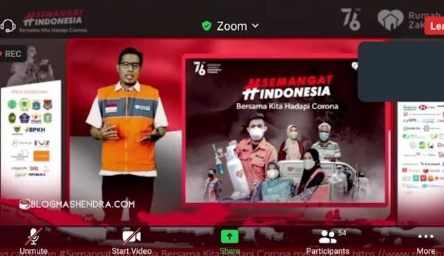 Campaign #SemangatIndonesia Melalui Zoom