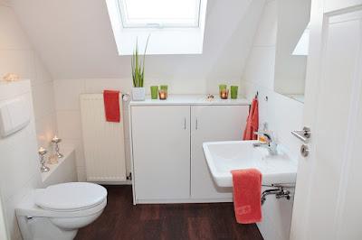 bagno-arredamento-bagno piccolo-mansarda