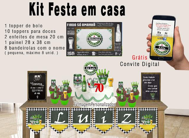 Heineken Festa Boteco dica decoração , os preços mais baratos para personalizados