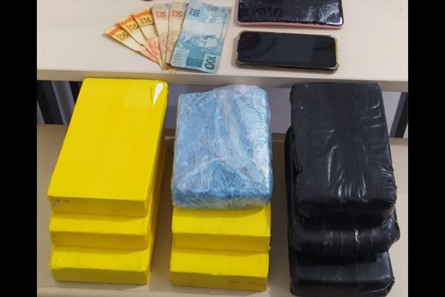 Três mulheres são presas com meio milhão em cocaína no Sudoeste da Bahia