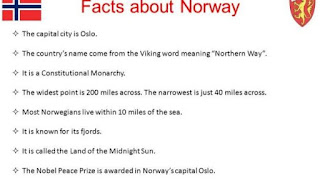 Five facts about Norway