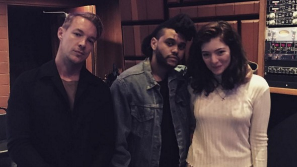 Lorde, The Weeknd y Diplo podrían estar trabajando juntos.