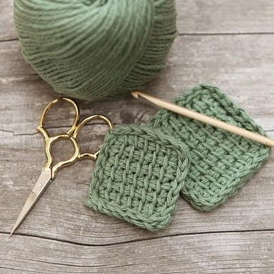 Desmaquilladores de Crochet Tutorial