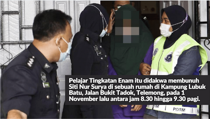 Pelajar perempuan didakwa bunuh Siti Nur Surya - Berita Harian