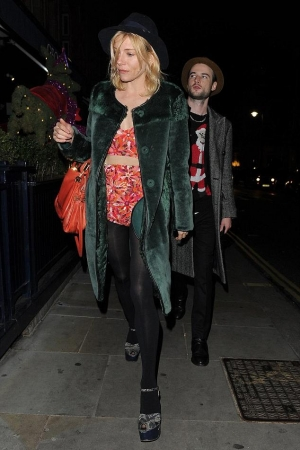 Sienna Miller Love Magazine Christmas Party