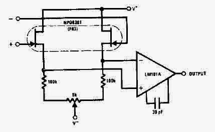 Use NPD8301 Fet Amplifier Circuit Diagram