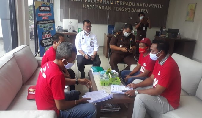 Presidium NGO Banten Kembali Santroni Kejati Banten, Ada Apa?