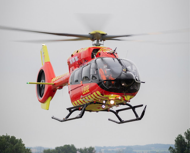 Norwegian Air Ambulance Foundation receives first ever five-bladed Airbus H145 helicopter | MORE THAN FLY