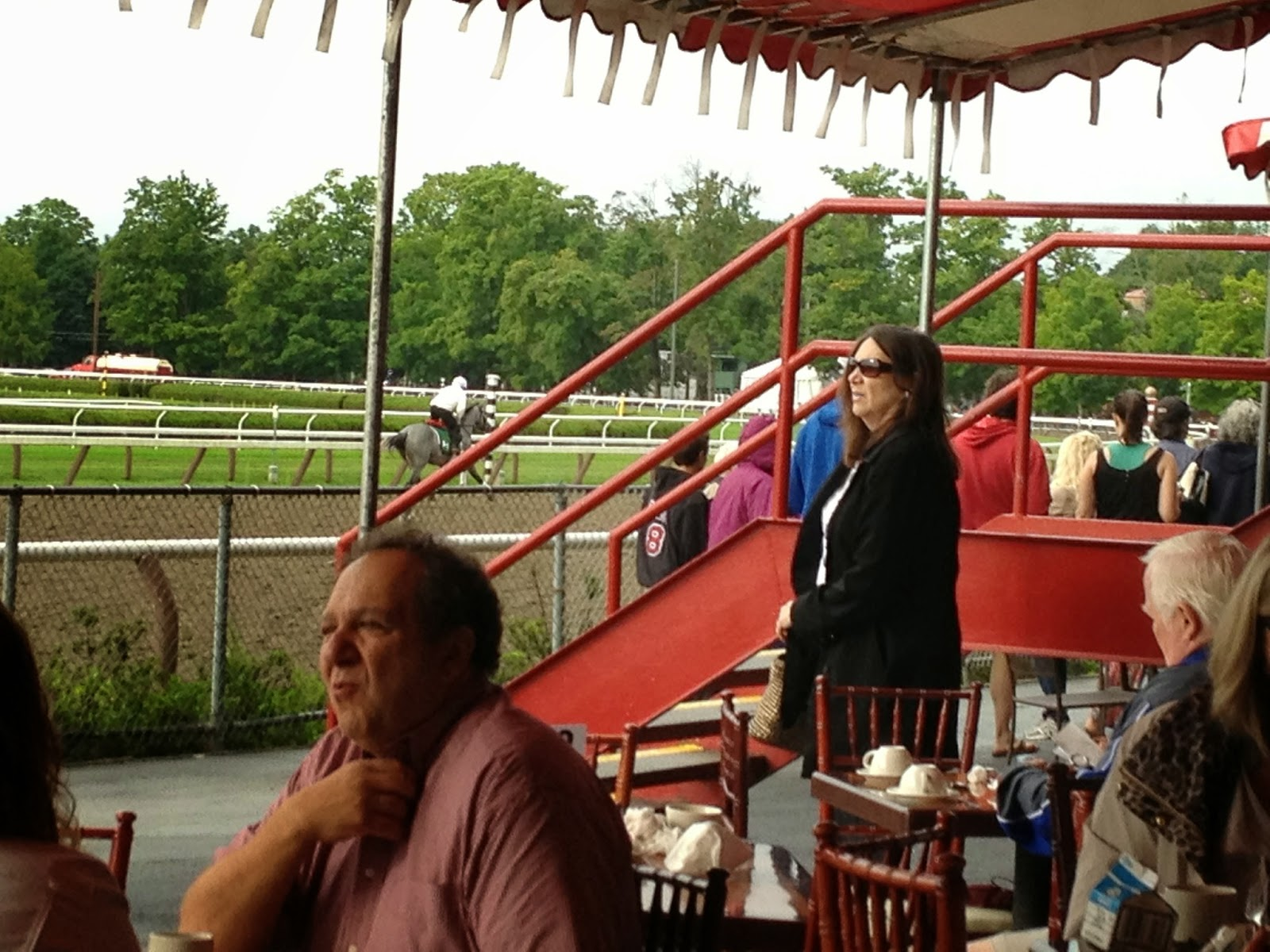 The Saratogian Blogs: Fresh Ink: Clubhouse? Grandstand