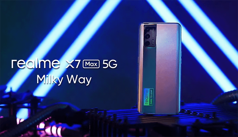 realme X7 Max 5G launched with Dimensity 1200 5G SoC, 120Hz Super AMOLED screen
