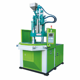 vertical injection modling machine