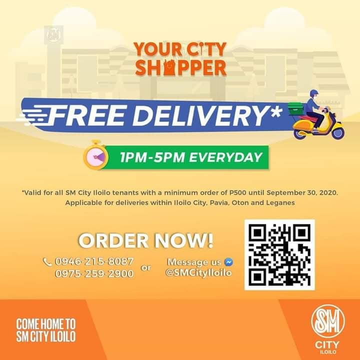 Your City Shopper Offers Free Delivery In Iloilo And Roxas City