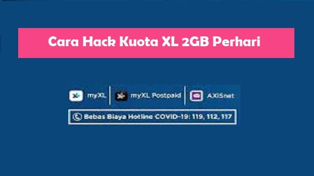 Cara Hack Kuota XL