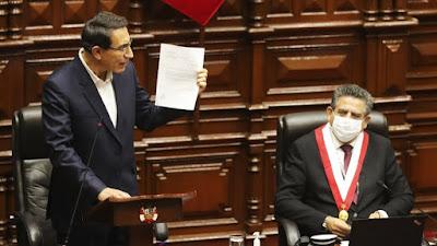 Martín Vizcarra presentó cartas notariales que prueban falsedades de audios