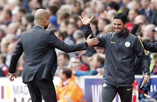 Pep Guardiola sends a message to Mikel Arteta ahead of Manchester City vs Arsenal clash