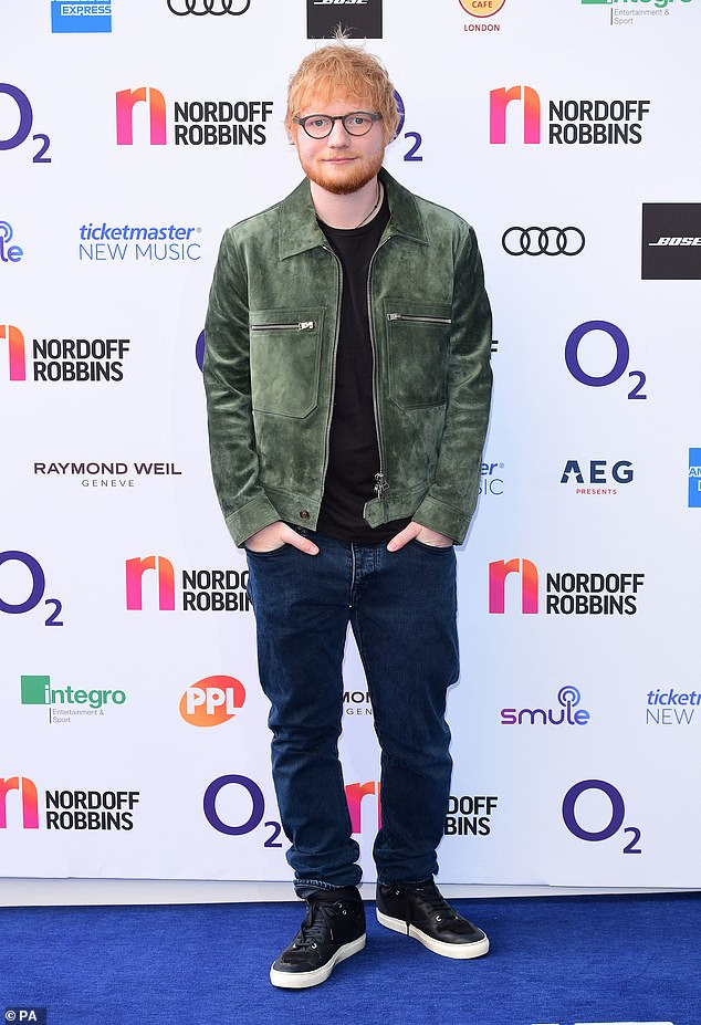 Ed Sheeran reveals he has cut off most of his friends and only trusts four people