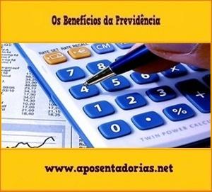 Cálculo da Renda Mensal, Benefícios da Previdência, INSS