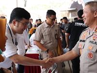 Kabarhakam Polri, Buka Pelayanan Bakti Sosial Kesehatan Serentak di 34 Polda Seluruh Indonesia