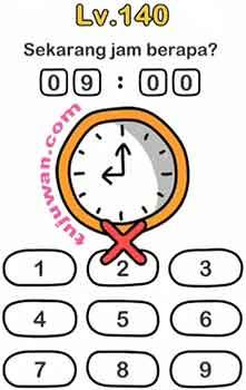Ini Jawaban Brain Out Level 140 Sekarang Jam Berapa?