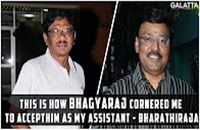 This is how Bhagyaraj Cornered me to accept him as my assistant – Bharathiraja