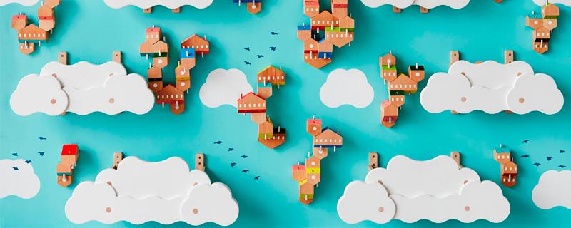 Construye casas en el cielo