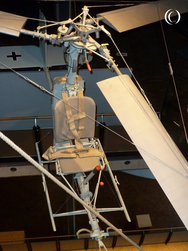 Focke Achgelis Fa 330 rotor in the Deutsches Technikmuseum Berlin