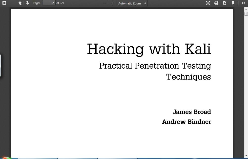 kali linux web penetration testing cookbook pdf