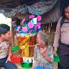 Nenek Batia Dapat Bakul Maudu Nabi Besar Muhammad SAW, Dari Kapolsek Bajeng