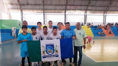 Atletas daqui participam de evento esportivo em Lagoa Salgada