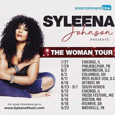 [Events] Syleena Johnson Presents THE WOMAN TOUR