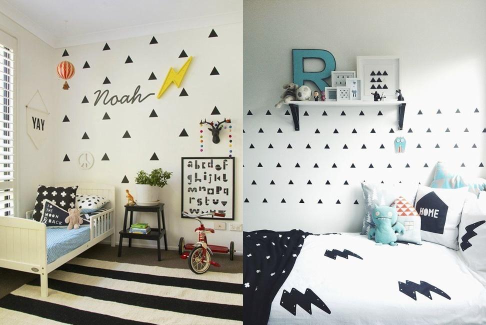Mina Imperfeita  Triangulo na Decoração esta super em Alta -> Banheiro Feminino Tumblr