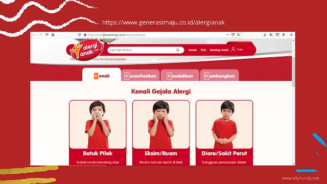 website alergi anak