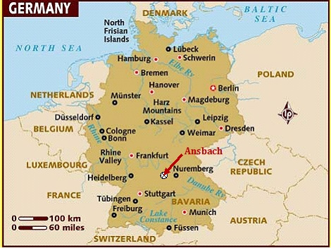 Katterbach Germany Map.Political Pistachio Terrorist Bomb In Ansbach Germany