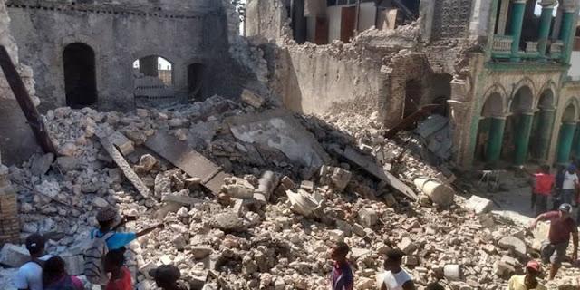 Update Gempa Haiti, Total Korban Tewas Mencapai 1.297 Jiwa