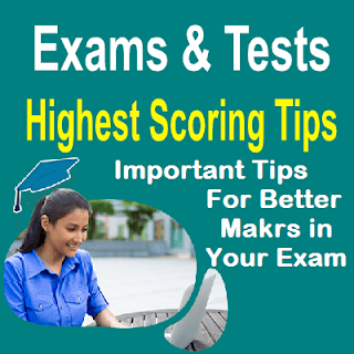 High Scoring Tips In your Exams For Matric F.SC and Others