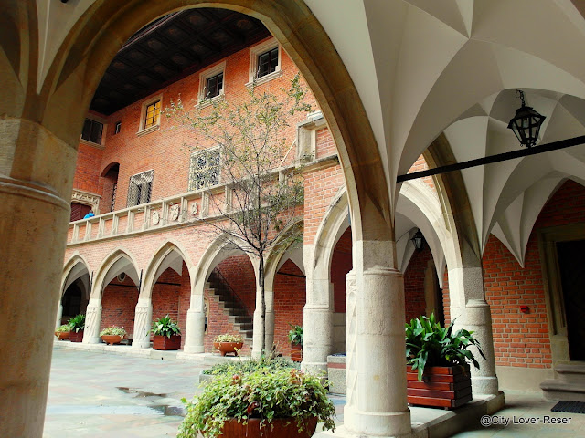 Krakow - gamla universitetet