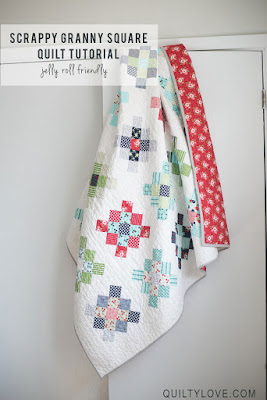 granny squares quilt pattern
