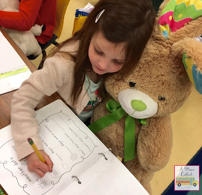 A nonfiction writing workshop celebration in Kindergarten. Lots of ideas on how to celebrate the end of your nonfiction writing unit with your Kindergarten students.