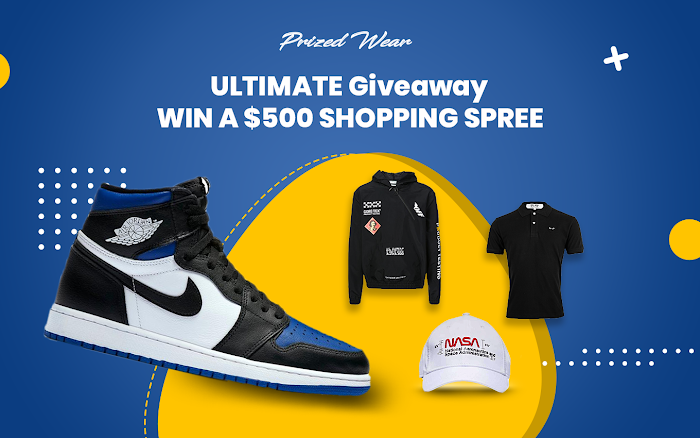 $500 worth of Shopping Spree Giveaway ( From Prized Wear )