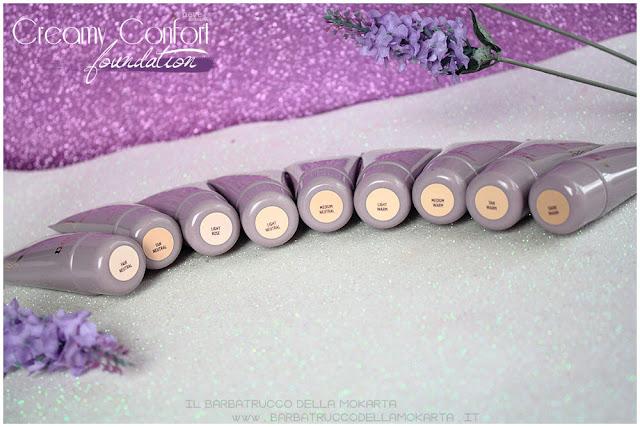 creamy confort foundation Fondotinta Neve Cosmetics