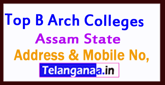 Top B Arch Colleges in Assam
