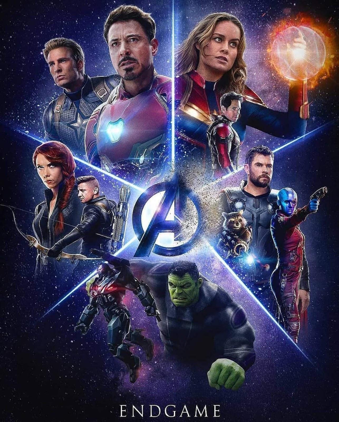 Avengers: Endgame [2019] [CUSTOM HD] [Fuente WEB-DL] [Latino Final] [DVDR] [NTSC]