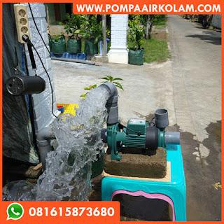 Pompa Air Modifikasi Jet 800 Untuk Kolam Ikan